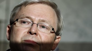 Kevin Rudd acusa o canal de estar a mentir