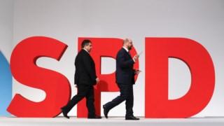 Sigmar Gabriel e Martin Schulz: