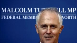 """Malcolm Turnbull, primeiro-ministro australiano, classificou a fotografia como """"muito desapropriada"""" e recusou tecer mais comentários"""