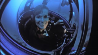 A bióloga marinha Sylvia Earle