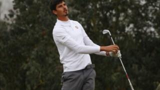 Vitor Lopes jogou os últimos 28 buracos do torneio em 11 abaixo do par © FILIPE GUERRA