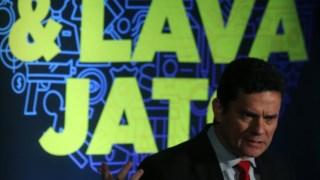 O juiz  Sergio Moro dirigiu o Lava-jato