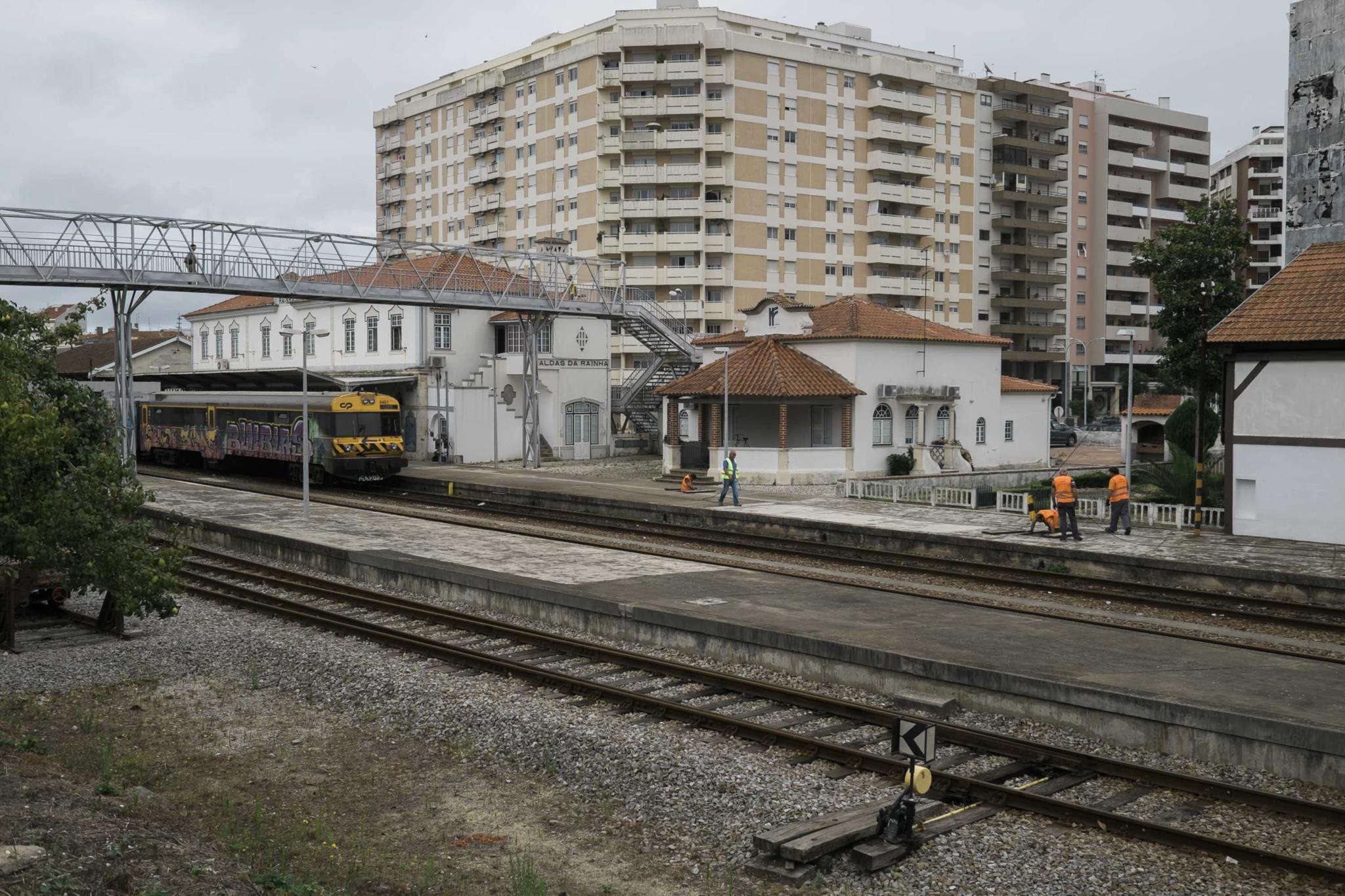 Resultado de imagem para Os Verdes Querem a Modernização da Linha Ferroviária do Oeste