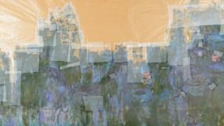 <i>Nenúfares: Reflexos de Salgueiros</i> terá sido pintada em 1916 e está hoje muito degradada