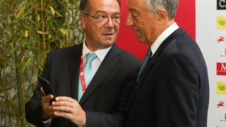 Marcelo com Carlos Carreiras