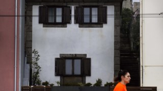 A casa da Cantareira é hoje o n.º 254 da Rua do Passeio Alegre