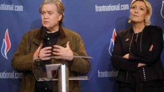 Bannon e Le Pen