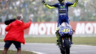 Valentino Rossi soma 134 pódios na carreira e procura o décimo título mundial