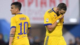 Nem Dybala, nem Higuaín salvaram a Juventus do empate