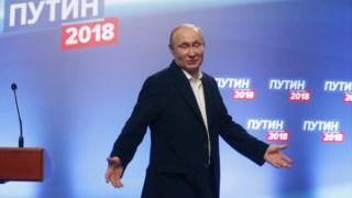 Vladimir Putin prolongou o seu mandato presidencial até 2024