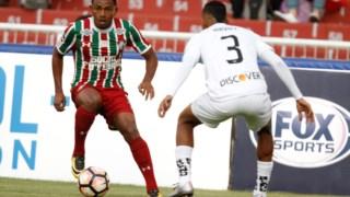 Wendel quando era um ídolo no Fluminense