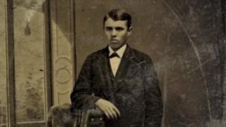Jesse  Woodson James com 14 anos