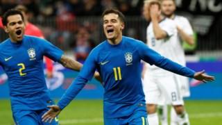 Philippe Coutinho ampliou a vantagem de penálti