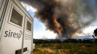 A rede de emergência nacional foi um dos pontos que falhou nos incêndios de 2017