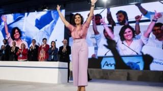 Cristas foi reeleita líder do CDs em Março