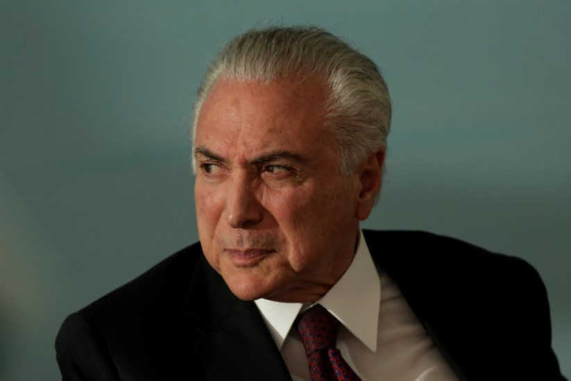 Não é a primeira vez que Temer é suspeito de um caso de corrupção relacionado com o porto de Santos