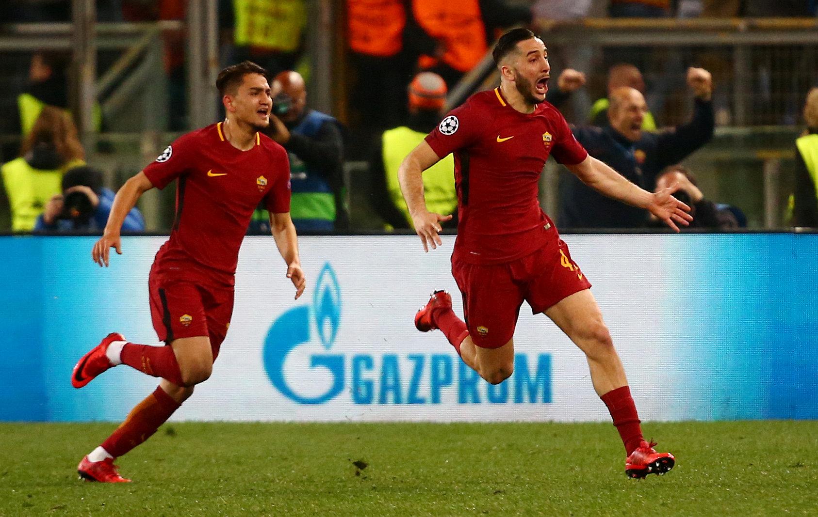Resultado de imagem para Reviravolta histórica da Roma elimina Barcelona