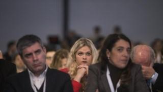 Imagem de arquivo de um congresso do CDS - as propostas visam reforçar as quotas de mulheres nos órgãos políticos e nos cargos dirigentes da Administração Pública