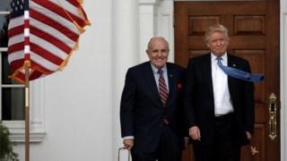 Rudolph Giuliani chegou a ser falado para o cargo de procurador-geral