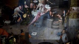 <i>Tentações de Santo Antão</i>, do pintor holandês Hieronymus Bosch