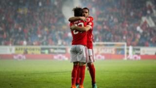 O Benfica sofreu para derrotar o Estoril