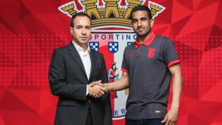 António Salvador e Marcelo Goiano selaram renovação de três anos.