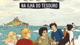 """""""Os Cinco na Ilha do Tesouro"""" 69 anos depois DR"""