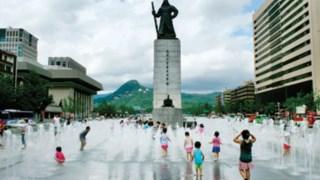 A nova área metropolitana de Seul DR