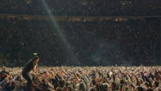Bruce Springsteen no último concerto em Berlim DR