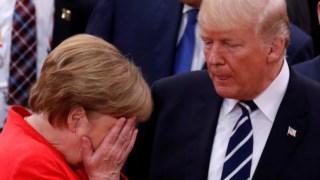 Merkel e Trump, uma relação conturbada