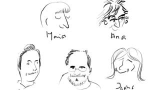 O desenho de Manuel San Payo