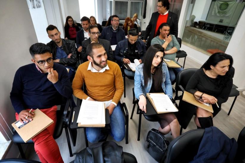 o Conselho da Europa e a associação Letras Nómadas organizaram a Academia de Política