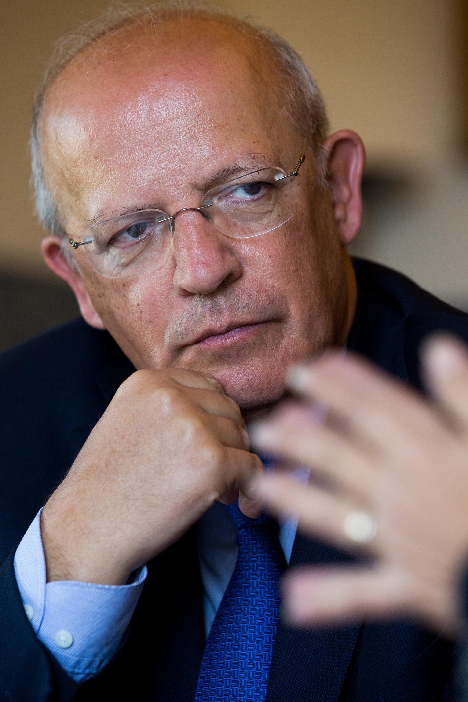 O ministro dos Negócios Estrangeiros português, Augusto Santos Silva