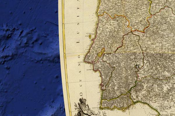 Google Maps mostra como eram os caminhos do século XVIII