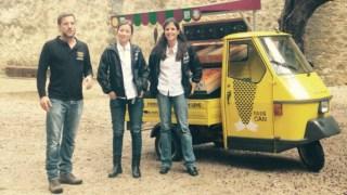 Bárbara Cabral, Tiago Ribeiro e Marta Fernandes DR