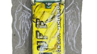 O skate, que às vezes serve de régua   Lorna Brown