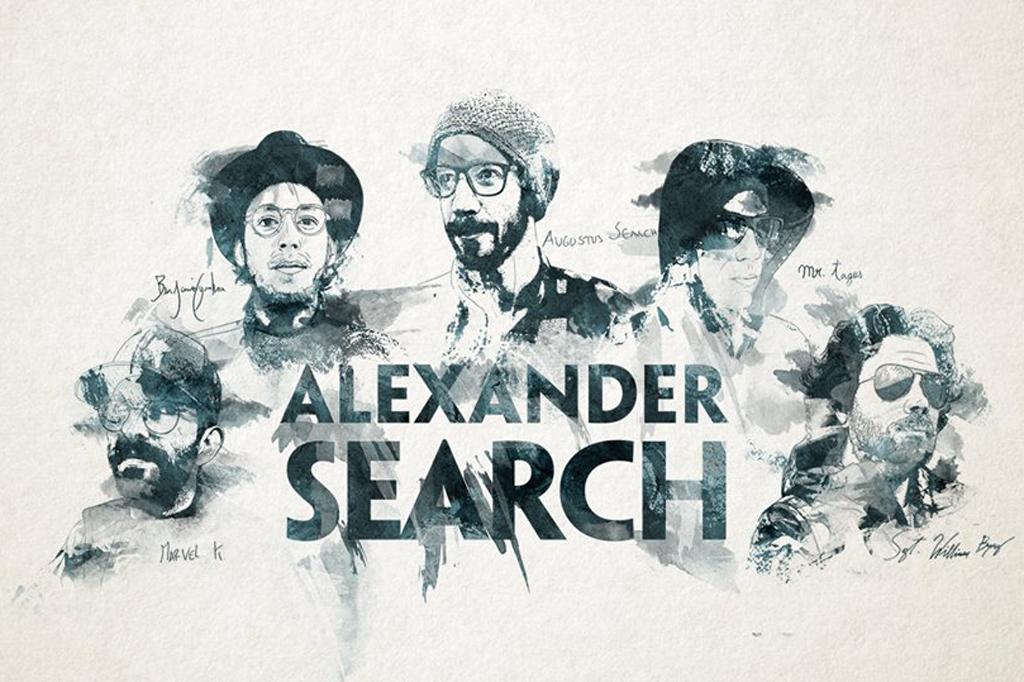 alexander search rar