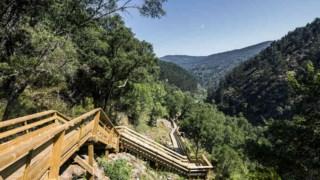 Os passadiços acompanham o vale do Rio Paiva Nelson Garrido