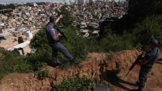Paraisópolis é a maior favela de São Paulo com cerca de 100 mil habitantes