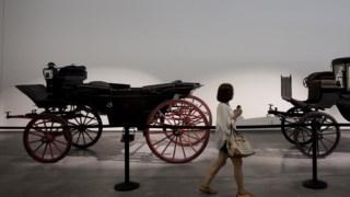 Carro, carruagem, cavalo