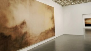 Museu de arte, andar, exposição de arte