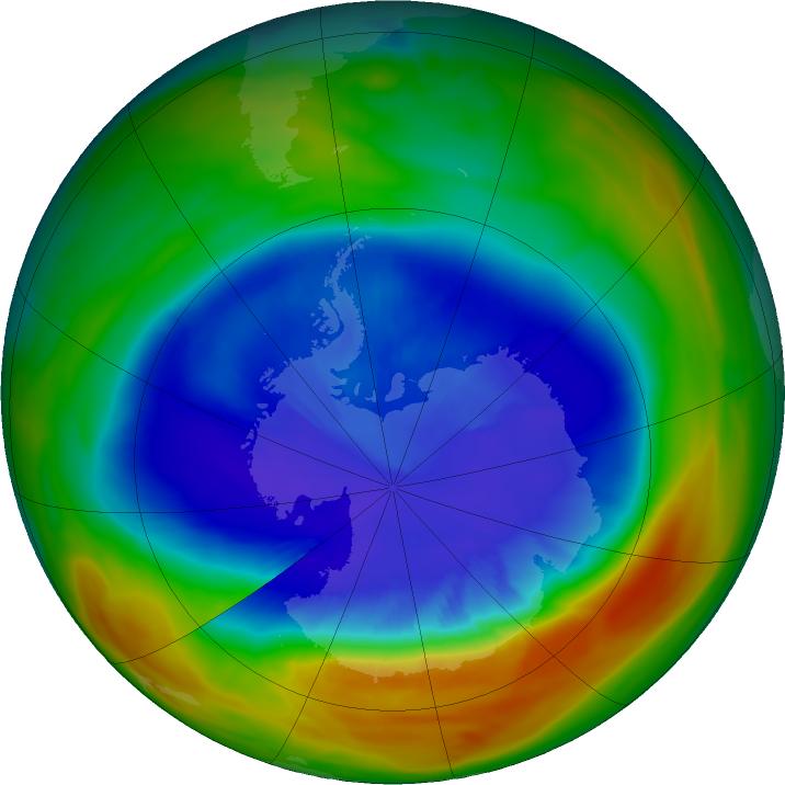 Resultado de imagem para A camada de ozono está a ser destruída por emissões misteriosas
