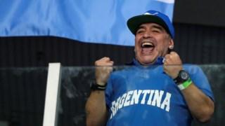 Maradona em 2016.