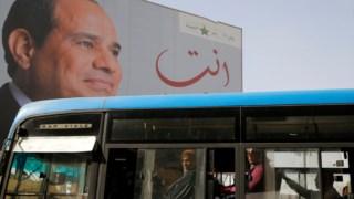 O Presidente Sissi é acusado de estar a silenciar a dissidência