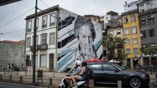 Mural de Daniel Eime no Porto Sara Lopes