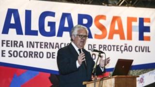 Eduardo Cabrita, ministro da Administração Interna, em Portimão