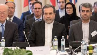 """O vice-ministro dos Negócios Estrangeiros do Irão termnou a reunião com os europeis, Rússia e CHina """"mais optimista"""" quando à possibilidade de manter o acordo"""