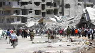 Guerra na Síria deixou um rasto de destruição