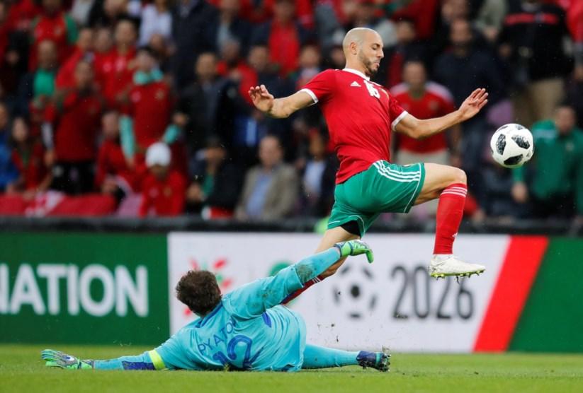 c730091e6a Marrocos empata sem golos com a Ucrânia