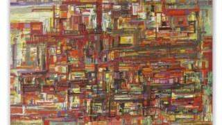 Pintura, duas urdiduras e tramas de linhas curtas 0 ° 90 °